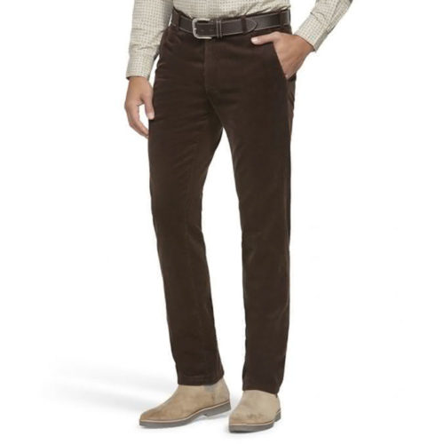 Meyer Bonn Corduroy Pant in Dark Olive