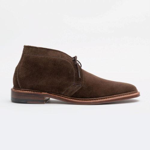 Alden 1492 Suede Chukka Boot in Brown