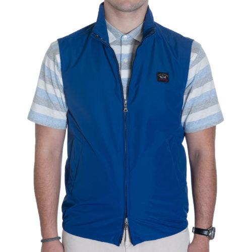 Paul & Shark Yachting Vest in Royal Blue