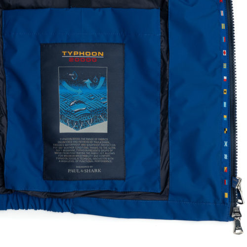Paul & Shark Typhoon 20000 Vest in Royal Blue