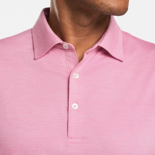 Peter Millar Excursionist Flex Polo in Pink