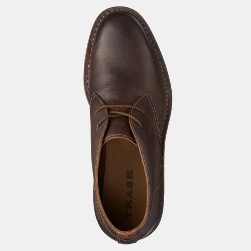 Trask Bardon Hybrid Chukka in Brown Calfskin