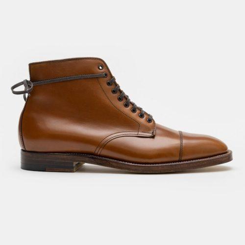 Alden 3914 Cap Toe Boot in Tan