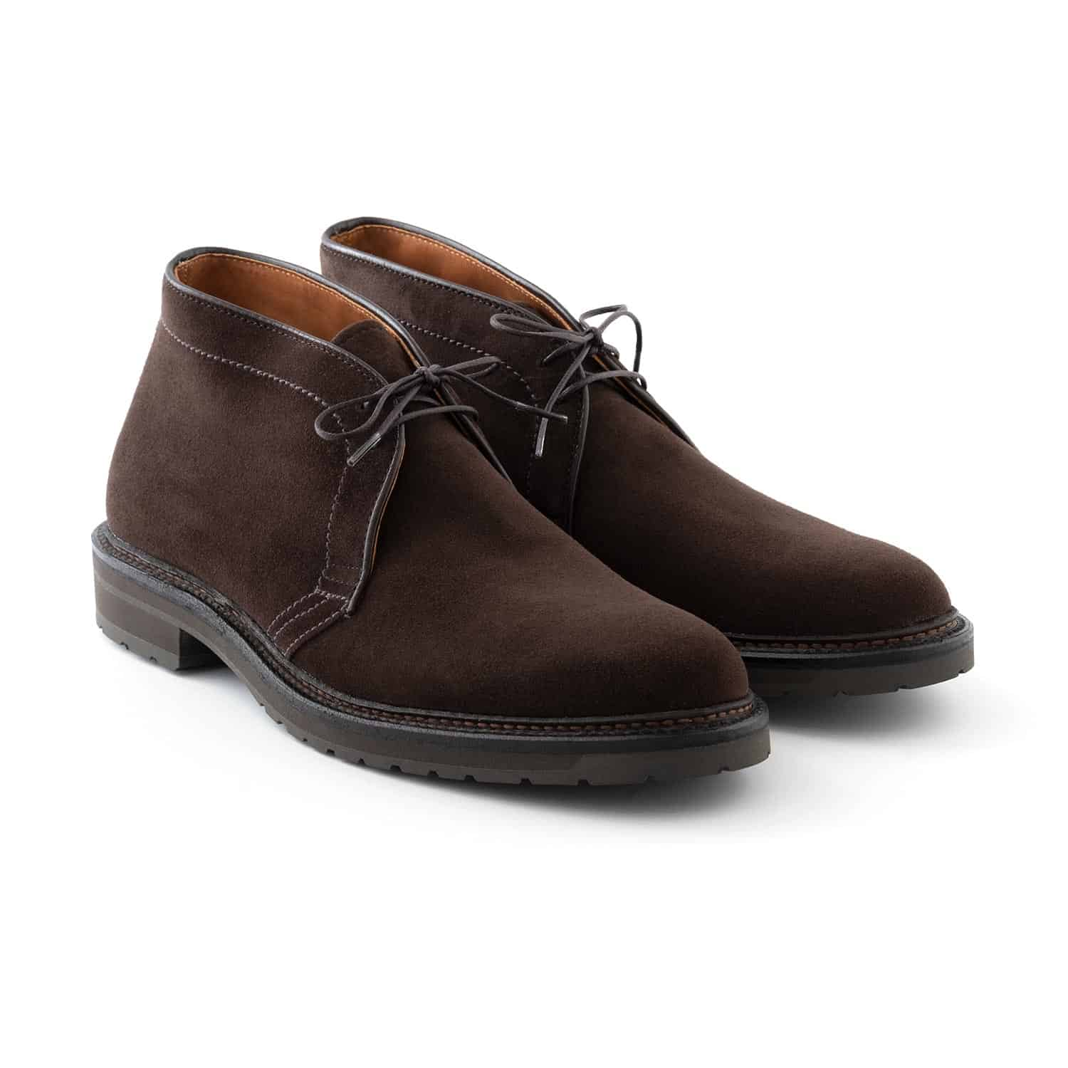 Alden 1273S Brown Suede Chukka Boot