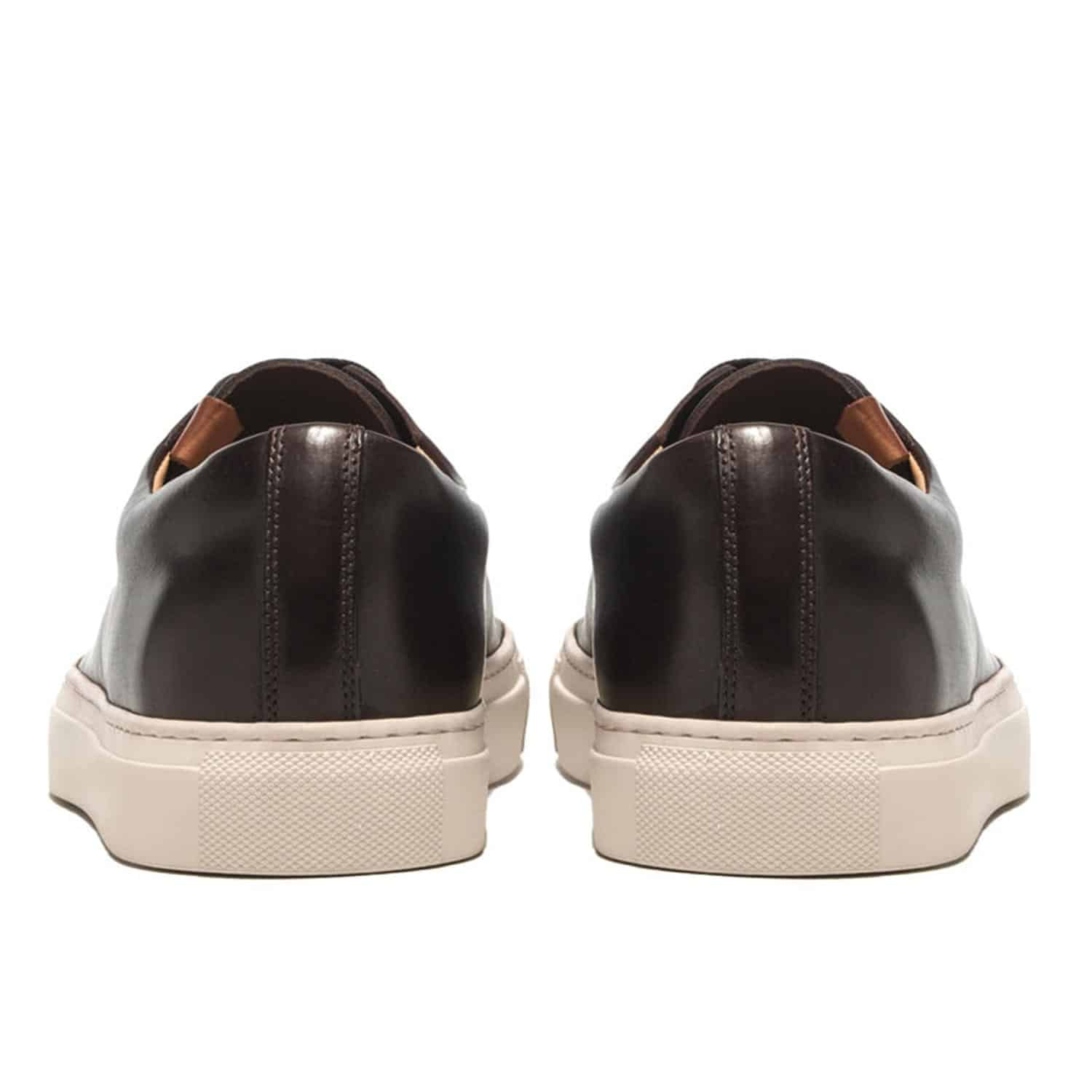 Buttero Dark Brown Tanino Low Sneaker