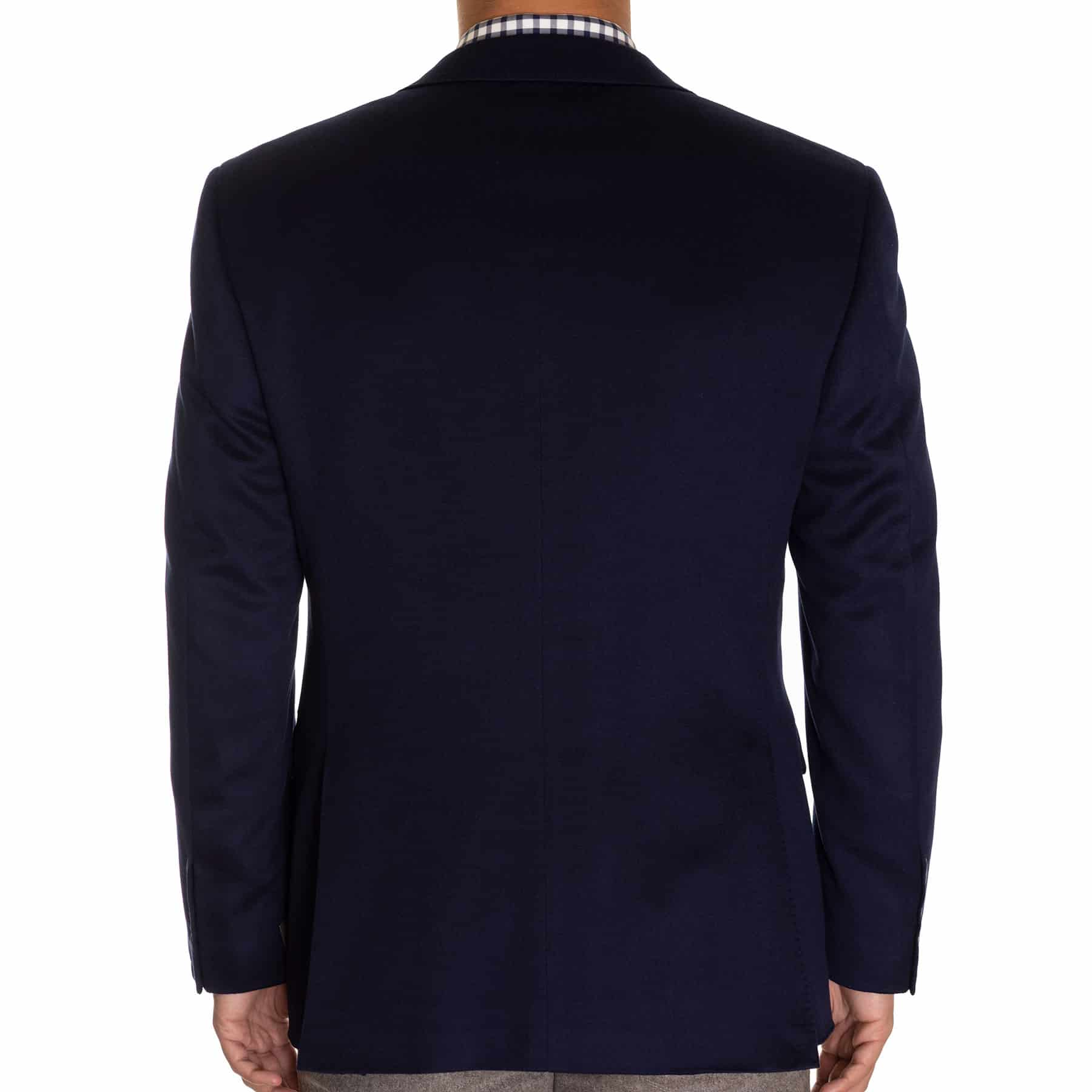 Canali Navy Cashmere Sport Coat