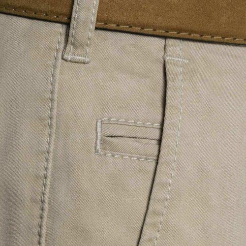 Meyer Bonn Twill Cotton Stretch Pant in Tan
